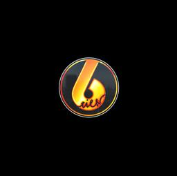 Sticker   Flame Tier6 (Holo)