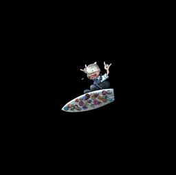 Sticker | Sticker Bomb Surf K (Foil)