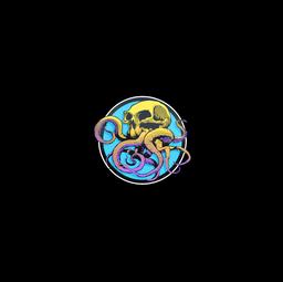 Sticker | Sunset Ocean Tentaskull