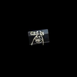 Sticker   Hello CZ75-Auto (Gold)