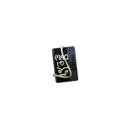 Sticker | Hello MAC-10 (Gold)
