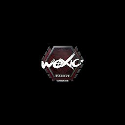 Sticker | woxic | London 2018