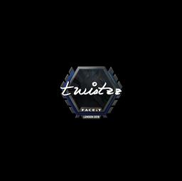 Sticker | Twistzz | London 2018