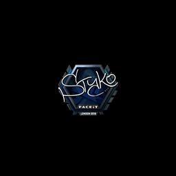 Sticker | STYKO (Foil) | London 2018