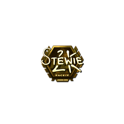 Sticker | Stewie2K (Gold) | London 2018