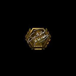 Sticker | SmithZz (Gold) | London 2018