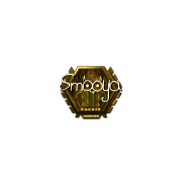 Sticker | smooya (Gold) | London 2018