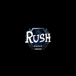 Sticker | RUSH (Foil) | London 2018