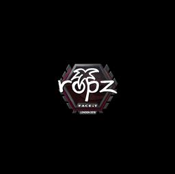 Sticker | ropz | London 2018