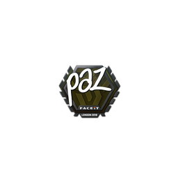 Sticker | paz | London 2018