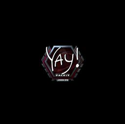 Sticker   yay (Foil)   London 2018