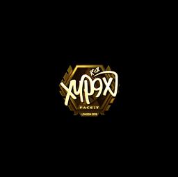 Sticker | Xyp9x (Gold) | London 2018