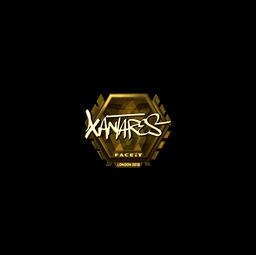 Sticker | XANTARES (Gold) | London 2018
