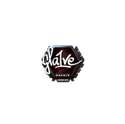 Sticker | gla1ve (Foil) | London 2018