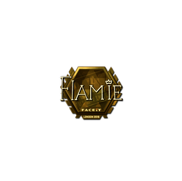 Sticker | flamie (Gold) | London 2018