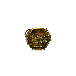 Sticker | Edward (Gold) | London 2018