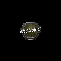 Sticker | electronic | London 2018