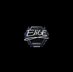 Sticker | EliGE | London 2018