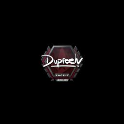 Sticker | dupreeh | London 2018
