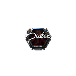 Sticker | draken (Foil) | London 2018