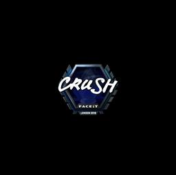 Sticker | crush (Foil) | London 2018