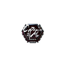 Sticker | captainMo (Foil) | London 2018