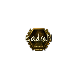 Sticker | cadiaN (Gold) | London 2018