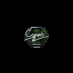 Sticker | cajunb (Foil) | London 2018