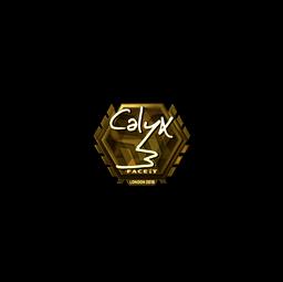Sticker | Calyx (Gold) | London 2018