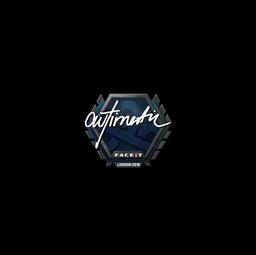 Sticker | autimatic | London 2018