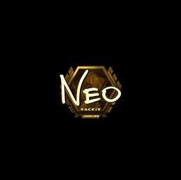 Sticker | NEO (Gold) | London 2018
