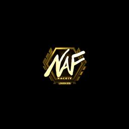 Sticker | NAF (Gold) | London 2018
