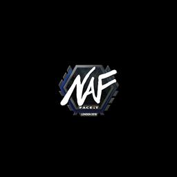 Sticker   NAF   London 2018