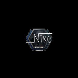 Sticker   niko    London 2018
