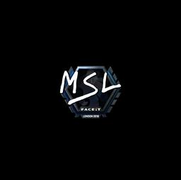 Sticker | MSL (Foil) | London 2018