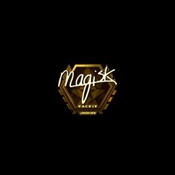 Sticker | Magisk (Gold) | London 2018