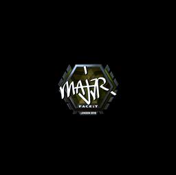 Sticker | MAJ3R (Foil) | London 2018