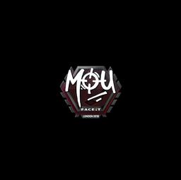 Sticker | mou | London 2018