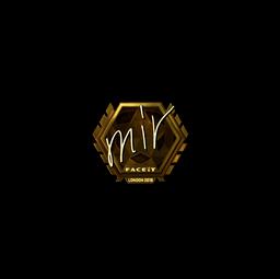 Sticker | mir (Gold) | London 2018