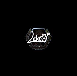 Sticker | Lekr0 (Foil) | London 2018