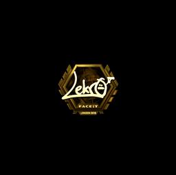 Sticker | Lekr0 (Gold) | London 2018