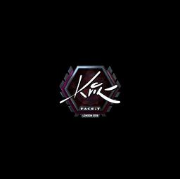 Sticker | Kvik (Foil) | London 2018