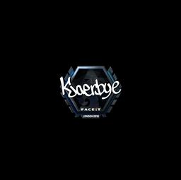 Sticker | Kjaerbye (Foil) | London 2018