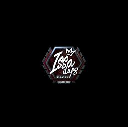 Sticker | ISSAA (Foil) | London 2018