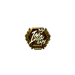 Sticker | ISSAA (Gold) | London 2018