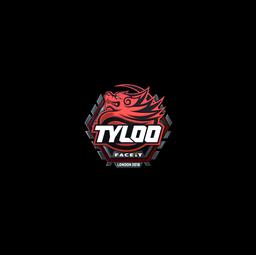 Sticker | Tyloo (Foil) | London 2018