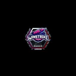 Sticker | Winstrike Team (Foil) | London 2018