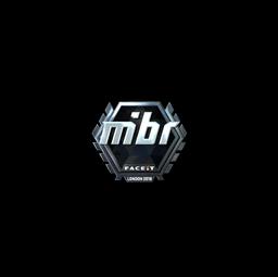 Sticker | MIBR (Foil) | London 2018