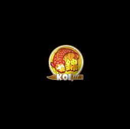 Sticker | Fancy Koi (Foil)