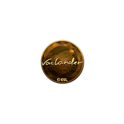 Sticker   wayLander (Gold)   Katowice 2019